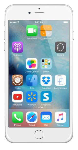 ترتيب الايقونات iOS 11