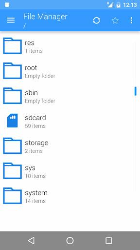 تطبيق File Manager لإدارة الملفات بواجهة سهلة