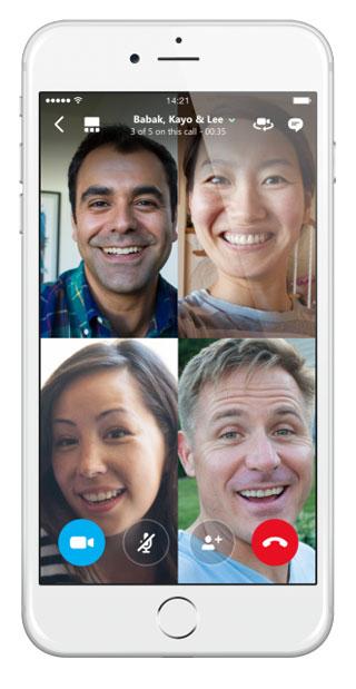 محادثات جماعية فيس تايم مع الاصدار iOS 11