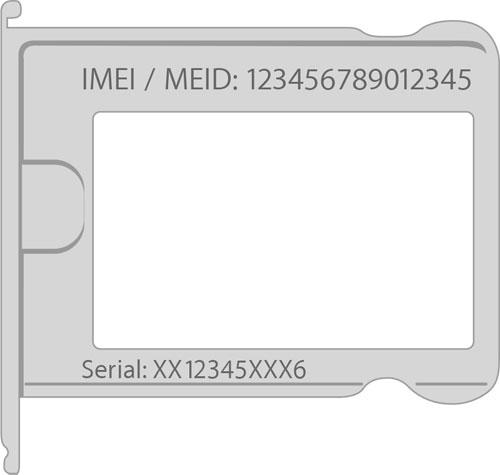 إيجاد أرقام Imei وسيريال أجهزة آبل