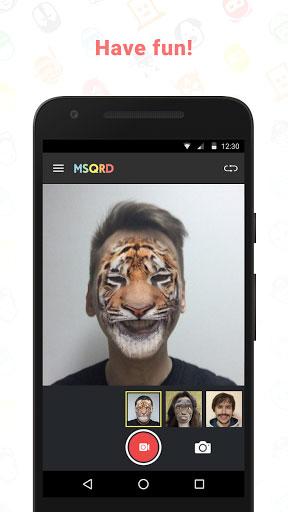 تطبيق MSQRD لتعديل الوجوه بطريقة احترافية