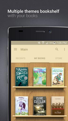 تطبيق eReader Prestigio لتصفح الكتب والحصول على مكتبة ذكية