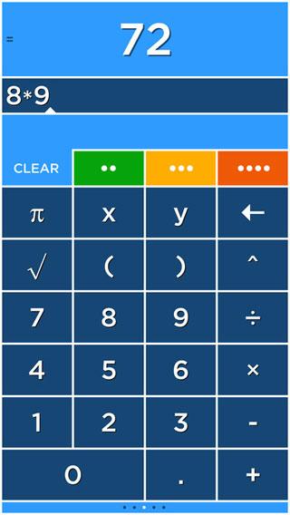 تطبيق Solve حاسبة بتصميم مميز ورائع