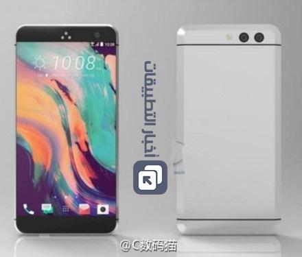هاتف HTC 11 سيأتي بكاميرا مزدوجة و شاشة بدون حواف !