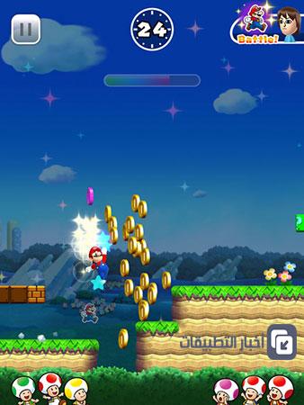 لعبة Super Mario Run الجديدة - نجاح منقطع النظير على أجهزة الآيفون و الآيباد !