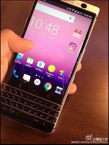 هاتف BlackBerry Mercury قادم قريباً بنظام الأندرويد و بلوحة مفاتيح كاملة !