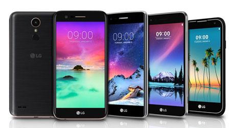 صورة شركة LG تعلن رسميا عن سلسلة هواتف K 2017 وهاتف LG Stylus 3