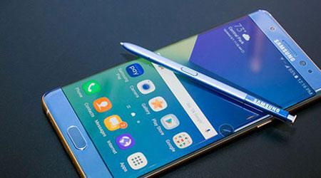 سامسونج توقف هاتف جالكسي Note 7 تماماً عن العمل !