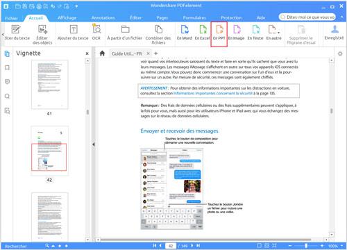 شرح برنامج PDFelement لتحويل ملفات PDF إلى ملفات مايكروسوفت أوفيس