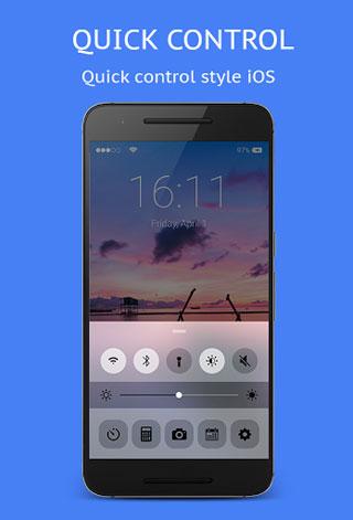 تطبيق IOS Screen Lock للحصول على واجهة نظام iOS