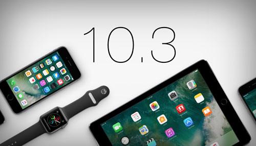 ما هي المزايا الجديدة في تحديث iOS 10.3 القادم قريباً ؟