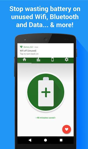 تطبيق Battery Aid 2 الذي يساعدك في الحفاظ على البطارية