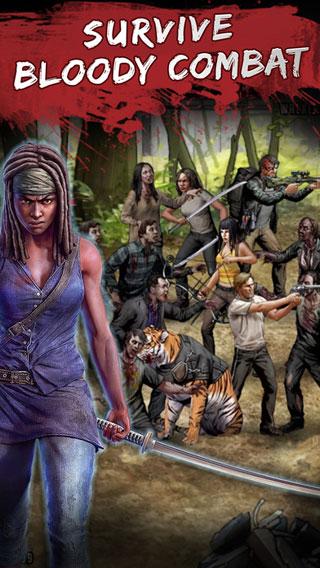 لعبة The Walking Dead: Road to Survival احصل على بعض الرعب المجاني