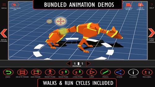 تطبيق Anim8 لإنشاء رسومات ثلاثية الأبعاد