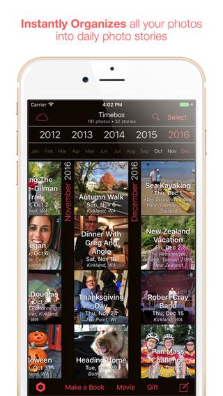 تطبيق Timebox Photo Journal لإنشاء ألبوم مميز لصورك