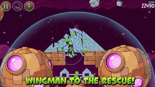 لعبة Angry Birds Space الطيور الغاضبة في الفضاء
