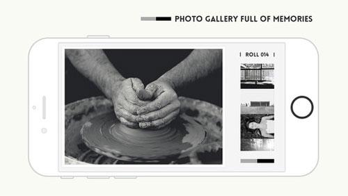 تطبيق Feelca B&W للمصورين المحترفين