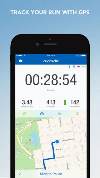 تطبيق Runtastic PRO Running للمارسة الرياضة