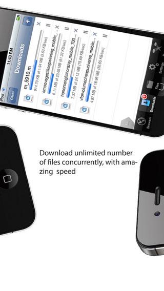 تطبيق iDownloads PLUS PRO لإدارة تنزيل الملفات