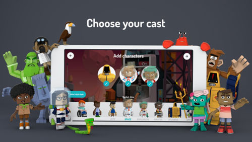 تطبيق Toontastic 3D من جوجل - لإنشاء أفلام كرتونية مميزة