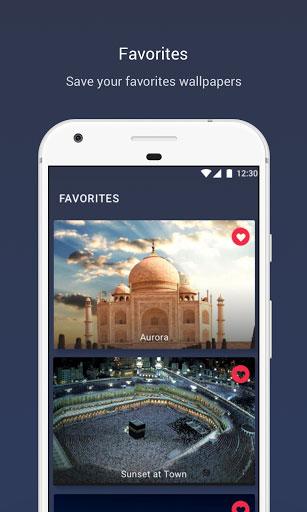 تطبيق Islamic Wallpapers - خلفيات وصور إسلامية رائعة