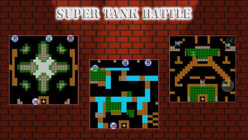 لعبة Super Tank Battle نسخة الأيفون