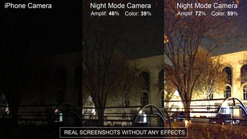 تطبيق Night Photo لالتقاط وتسجيل فيديو في الظلام