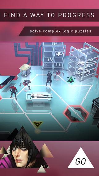 لعبة Deus Ex GO لتحدي الألغاز والمغامرة