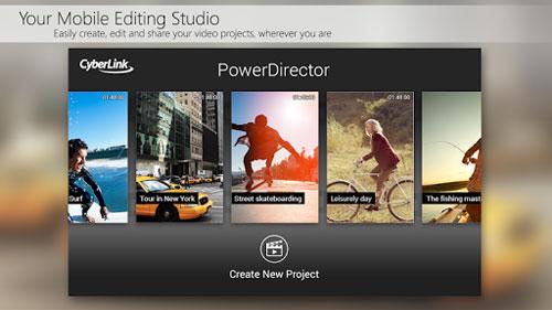 تطبيق PowerDirector لتحرير مقاطع الفيديو ومونتاجها