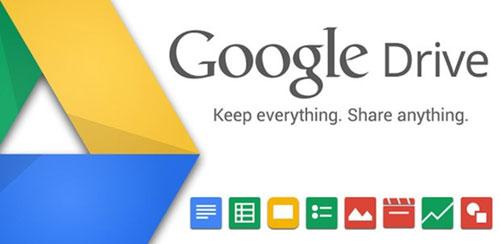 خدمة جوجل درايف - Google Drive