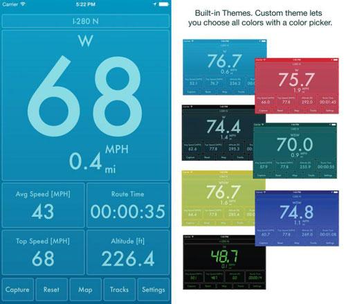 تطبيق Speed PRO لقياس سرعتك وتسجيل حركاتك