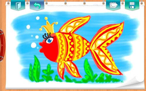 تطبيق KidSketch لتعليم الأطفال الرسم والتلوين