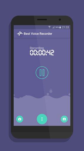 تطبيق Best Voice Recorder لتسجيل الملاحظات الصوتية