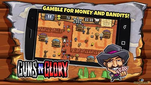 لعبة Guns'n'Glory لمحبي رعاة البقر - استراتيحية وممتعة