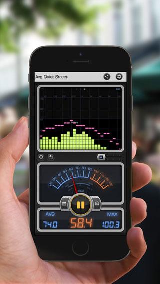 تطبيق Decibel 10th لمعرفة شدة الصوت في الأمكنة