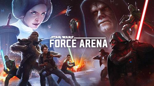 لعبة Star Wars™: Force Arena متوفرة على جوجل بلاي
