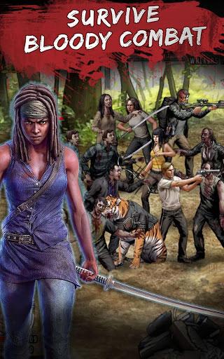 لعبة Walking Dead: Road to Survival لمحبي معارك الزومبي