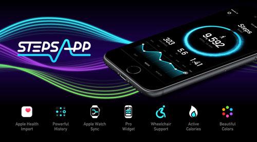 تحديث تطبيق StepsApp Pedometer الخاص بمتابعة نشاطك الرياضي
