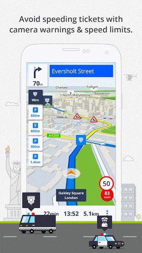 تطبيق GPS Navigation & Maps Sygic للملاحة من بين الأفضل حاليا