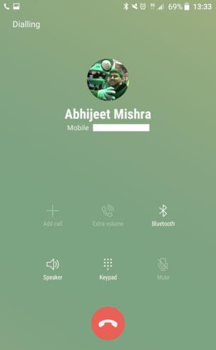 مزايا جمالية : تصميم جديد لتطبيق الهاتف