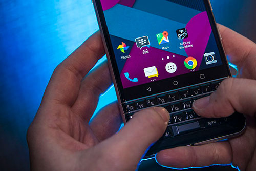 هذا هو هاتف BlackBerry Mercury الجديد !