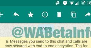 واتس آب سيضيف ميزة تعديل الرسائل أو حذفها بعد الإرسال