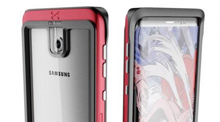 صورة تسريب صور هاتف جالاكسي S8 في غلاف من شركة Ghostek
