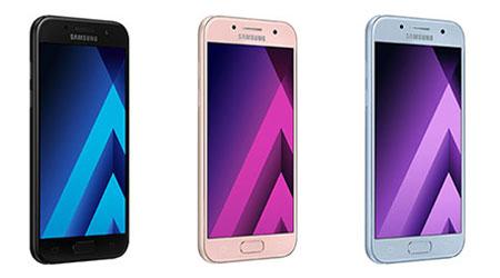 سامسونج تكشف رسمياً عن سلسلة هواتف جالكسيA 2017 - المواصفات و السعر !