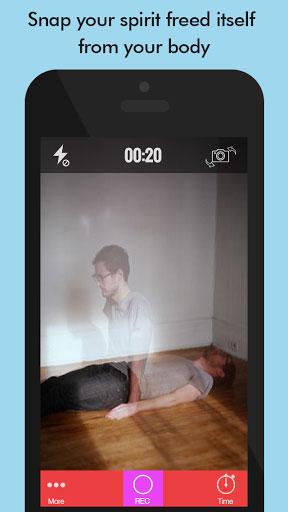 تطبيق Ghost Lens+ لإنشاء ومونتاج صور وفيديو بمؤثرات مرعبة