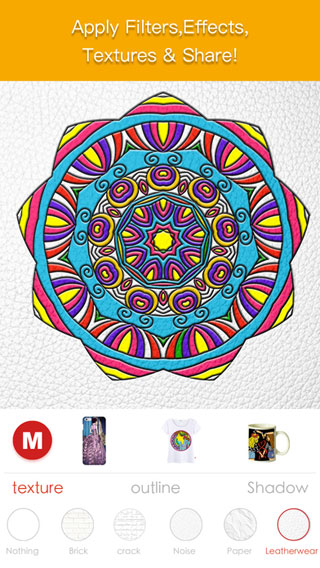 تطبيق Coloring Artist لتصميم قميصك وكوبك وغلاف هاتفك