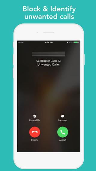 تطبيق Call Blocker لحظر الاتصالات المزعجة والمجهولة