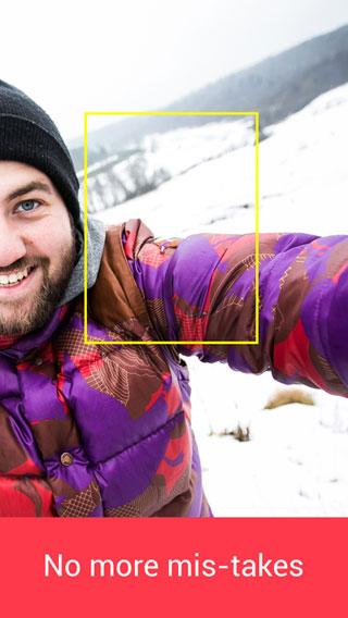 تطبيق SelfieX لالتقاط صور سيلفي بالكاميرا الخلفية