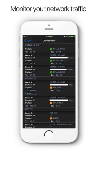 تطبيق System and Network Info لمعرفة حالة الجهاز