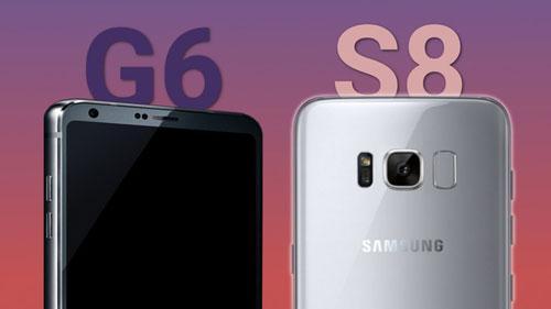 جهاز جالكسي S8 ضد LG G6 - أيهما سيكون أفضل ؟